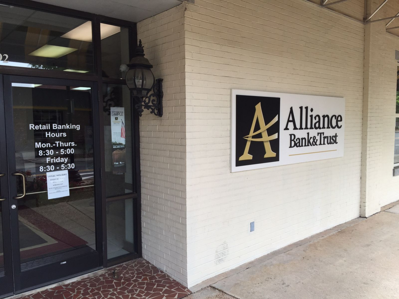Alliance Bank and Trust